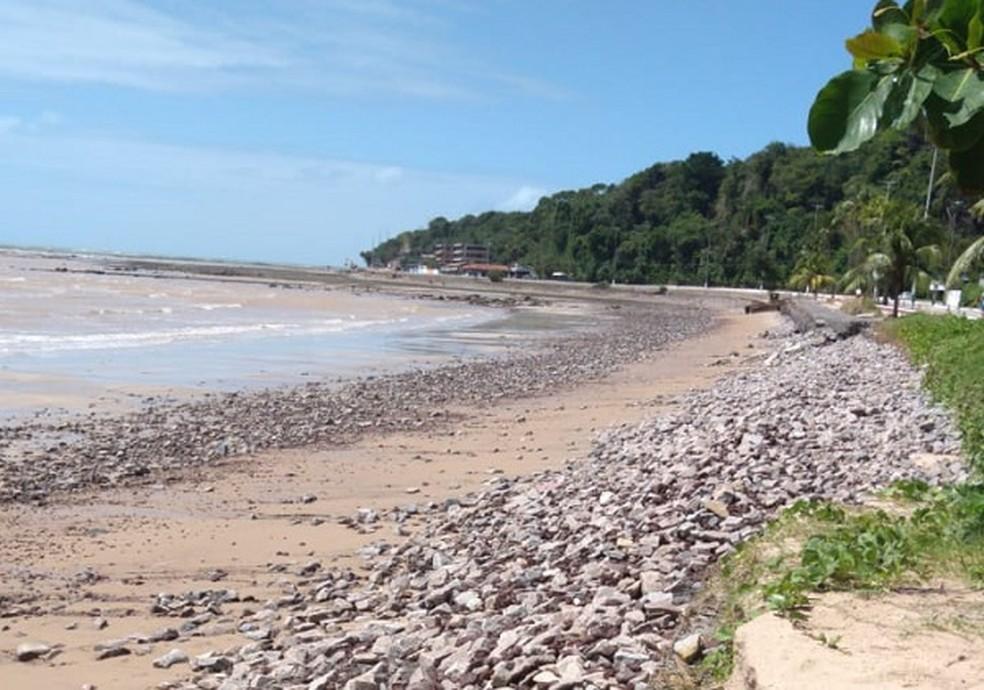 Comissão da OAB-PB vai acompanhar caso das pedras espalhadas na faixa de areia da praia do Cabo Branco