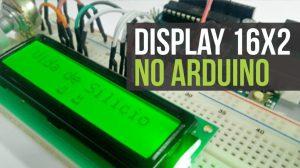 Display LCD 16x2 com Arduino