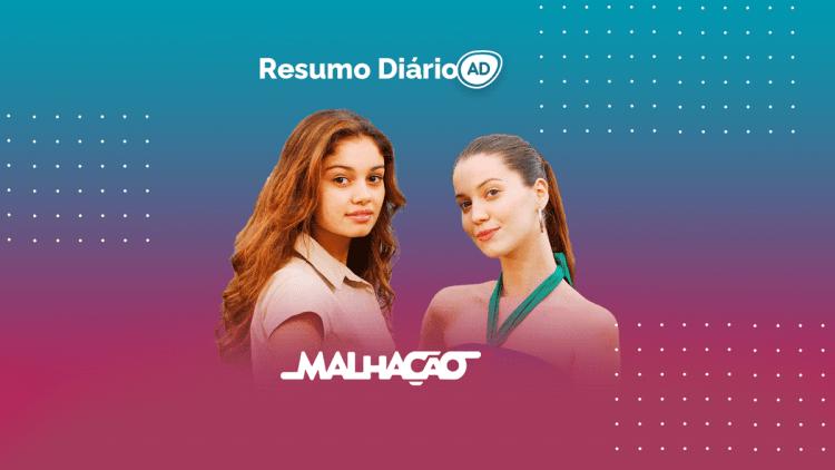 Logo do resumo diário da novela Malhação 2008