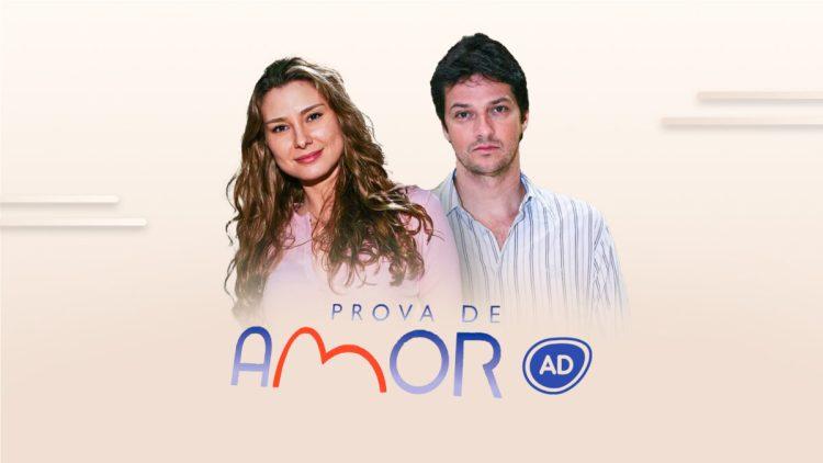 Logo do resumo diário da novela Prova de Amor