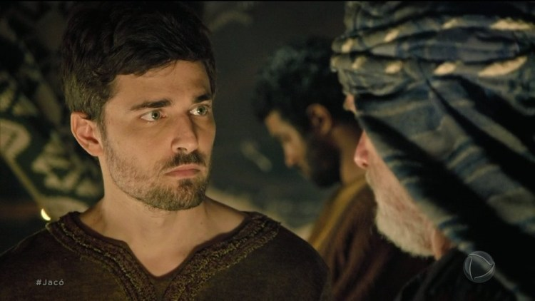 Jacó (Miguel Coelho) em cena do capítulo de 07 de julho da novela Gênesis