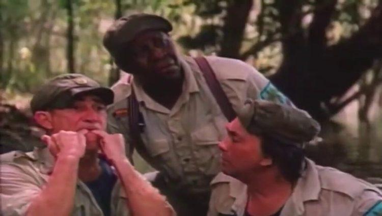Trecho do filme Os Trapalhões e a Árvore da Juventude, exibido pelo SBT na Tela de Sucessos