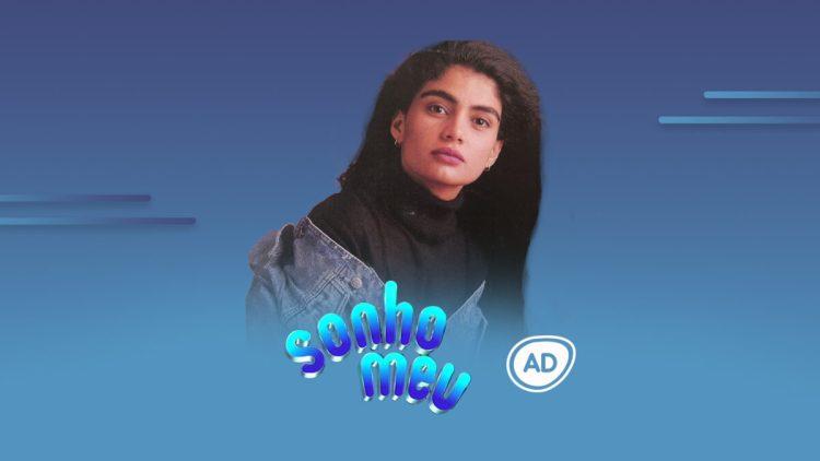 Logo do resumo diário da novela Sonho Meu no canal Viva