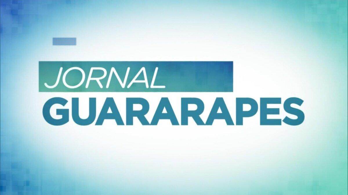 Logo do Jornal Guararapes da afiliada da Record TV em Pernambuco