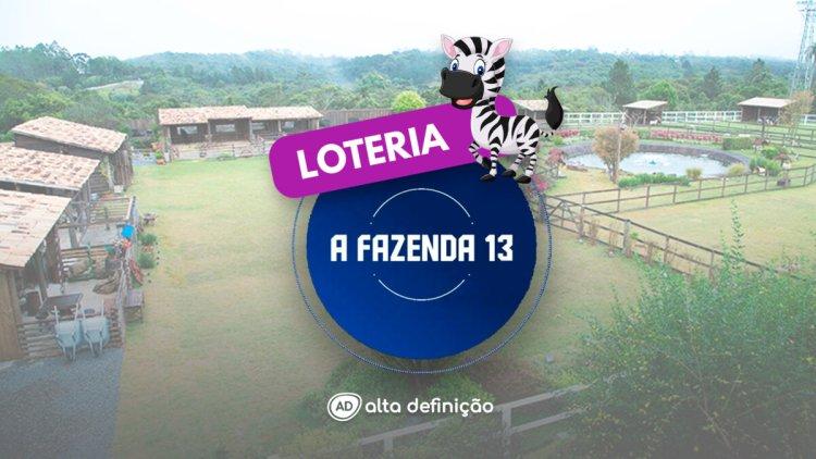 Logo da loteria A Fazenda 13