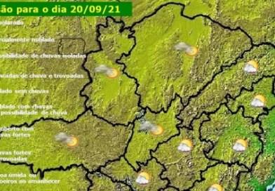 Veja como fica a previsão do tempo para Minas Gerais