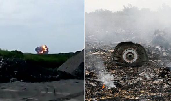 """""""Malaysia Airlines"""" MH17"""