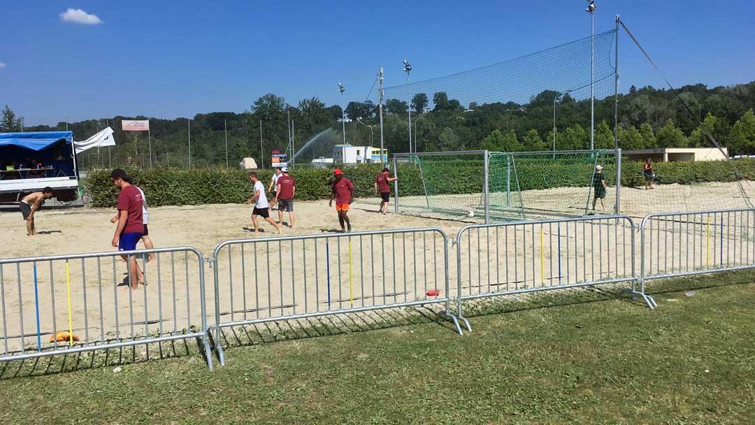 Beach soccer Portalban