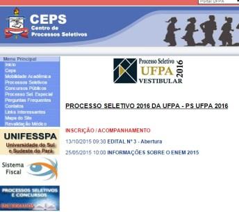 UFPA2016