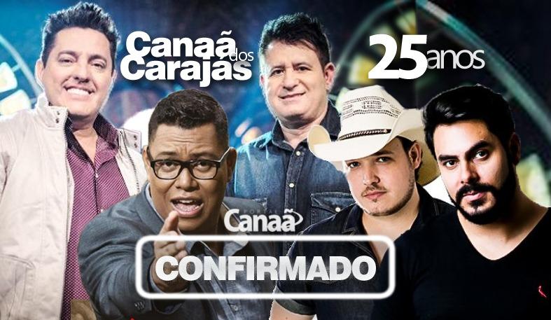 25 Anos Canaã dos Carajás - Fenecan 2019 - Aniversário de Canaã dos Carajás