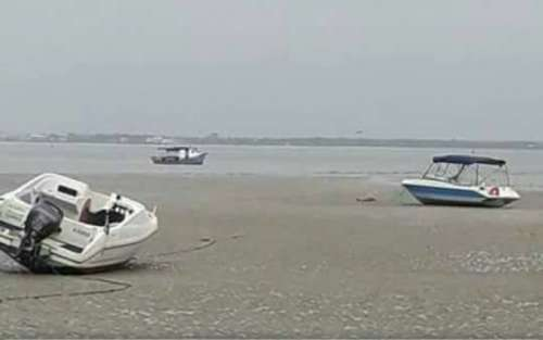 Mar 'some' pela terceira vez no litoral paranaense. Entenda