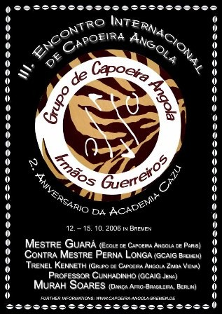 Portal Capoeira Encontro Internacional de Capoeira Angola Eventos - Agenda