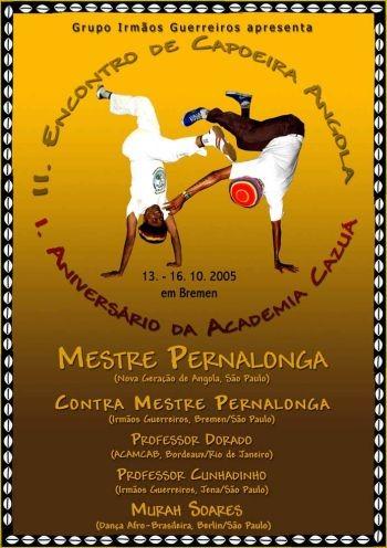 Portal Capoeira Angola no Cazuá em Bremen... Alemanha Eventos - Agenda