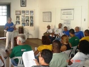 Portal Capoeira Repercussão... I Ciclo de Palestras do Forte da Capoeira Notícias - Atualidades