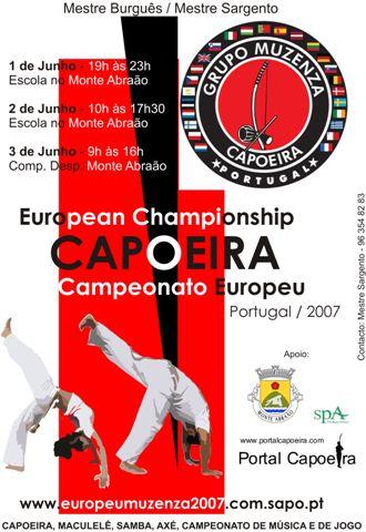 Campeonato Europeu Aberto de Capoeira – Portugal / 2007