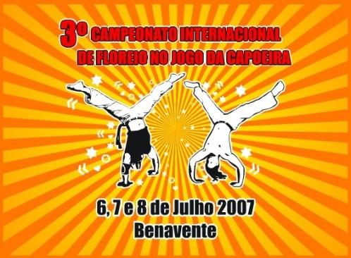 """Portal Capoeira Portugal - Mestre Cotta: """"3º Campeonato Internacional de Floreio dentro do Jogo da Capoeira"""" Eventos - Agenda"""