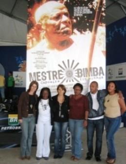 MESTRE BIMBA E A CAPOEIRA NO PAN 2007