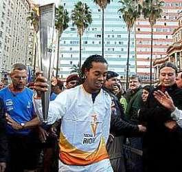 Portal Capoeira PAN 2007: Tocha será recebida com capoeira em Parati Notícias - Atualidades
