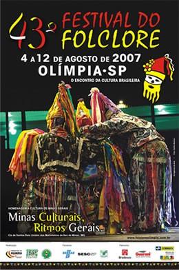 Olímpia – SP: 43º Festival do Folclore