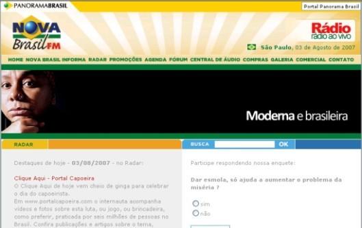 Portal Capoeira Rádio, Mídia & Capoeira - Uma união que tem Dendê!!! Notícias - Atualidades