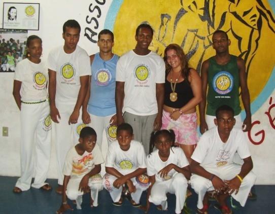 Portal Capoeira Capoeira Mangangá realiza encontro internacional Eventos - Agenda