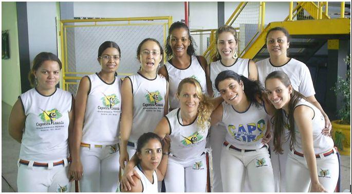 Portal Capoeira A Capoeira e o Universo Feminino Capoeira Mulheres