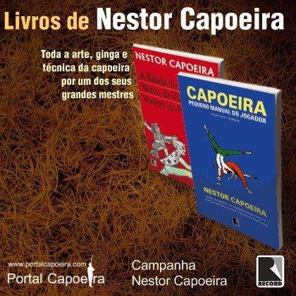 Portal Capoeira Editora Record e Portal sorteiam obras de Nestor Capoeira Institucional Portal Capoeira