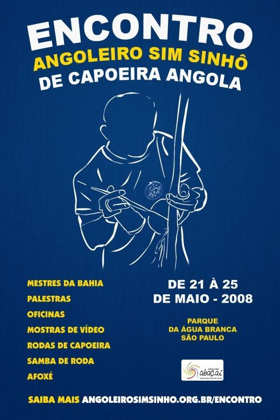 Portal Capoeira São Paulo: Mestre Plinio & Centro de capoeira angola angoleiro Sim Sinhô Eventos - Agenda