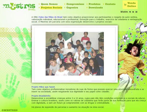 Portal Capoeira Mestres: moda socialmente responsável Cidadania