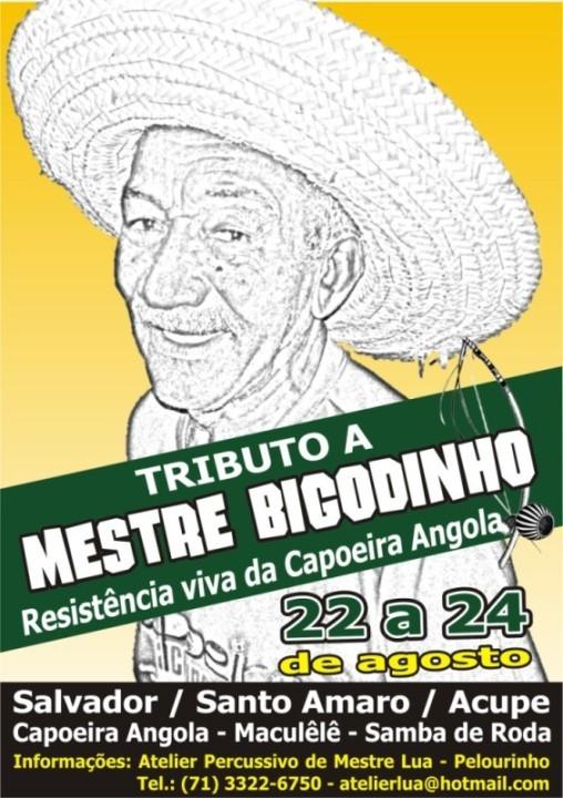 Portal Capoeira Bahia: Tributo a Mestre Bigodinho Eventos - Agenda