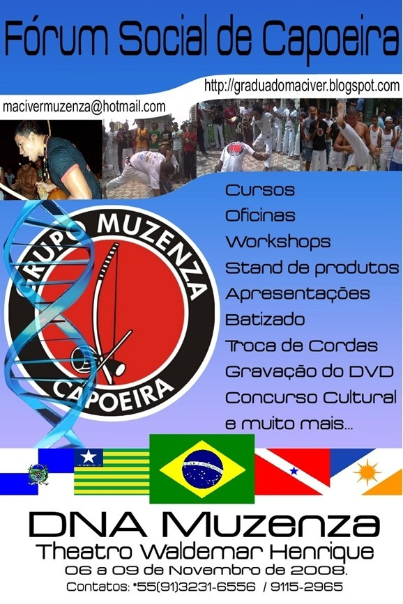 Portal Capoeira Fórum Social de Capoeira Eventos - Agenda