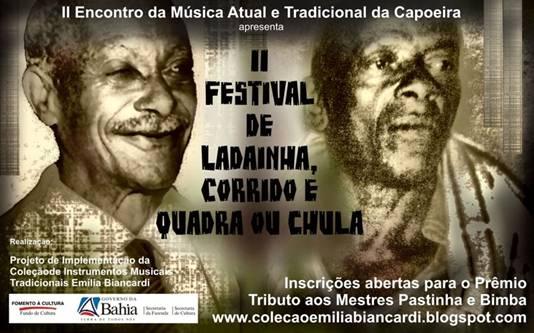 Portal Capoeira II Encontro da Música Atual e Tradicional da Capoeira Eventos - Agenda