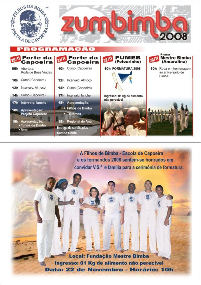 Campinas: ZUMBIMBA – 2008