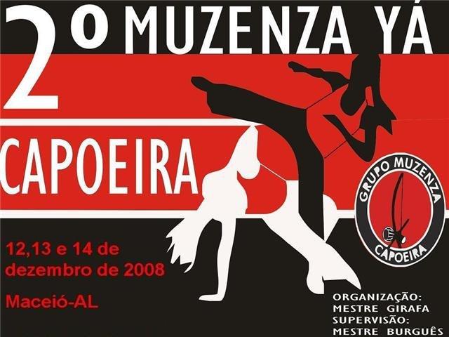Portal Capoeira Aconteceu: II MUZENZAYA CAPOEIRA Eventos - Agenda