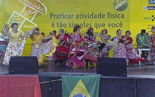 Portal Capoeira Ministros participam do dia mundial pela atividade física no Rio Cultura e Cidadania