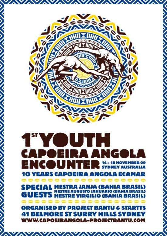 Portal Capoeira I Encontro Juvenil de Capoeira Angola na Austrália Eventos - Agenda