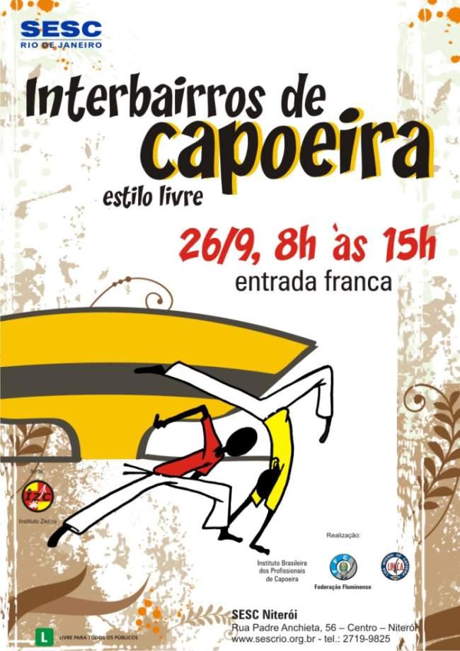 Portal Capoeira Interbairros  de Niterói de Capoeira Estilo Livre Eventos - Agenda
