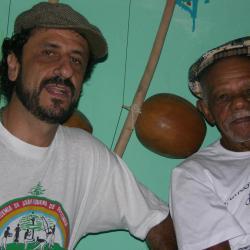 Pedro Abib e o Grande João Pequeno de Pastinha