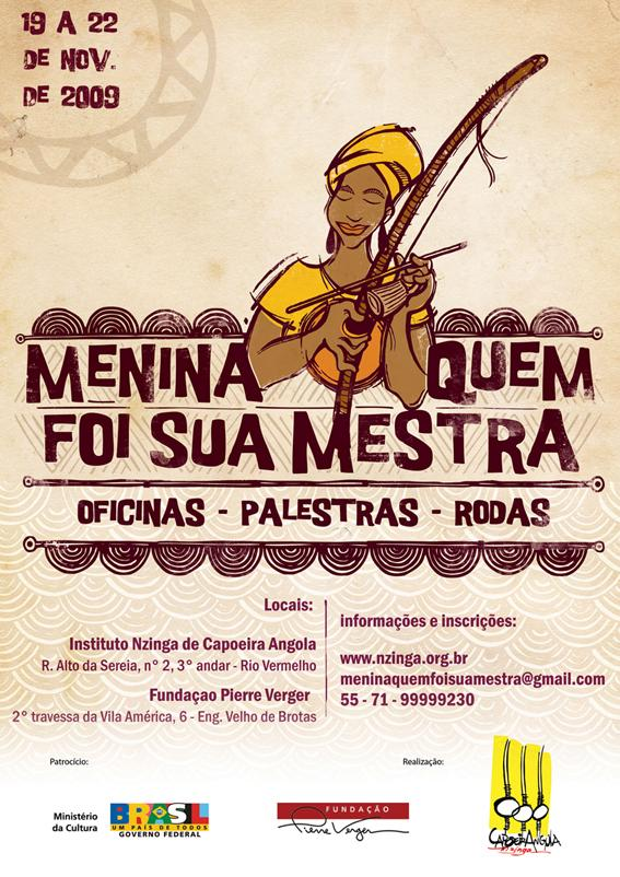 Portal Capoeira Menina quem foi sua mestra Capoeira Mulheres