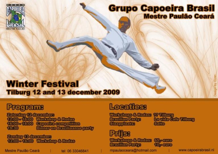 Portal Capoeira Festival de Inverno: Grupo Capoeira Brasil Eventos - Agenda
