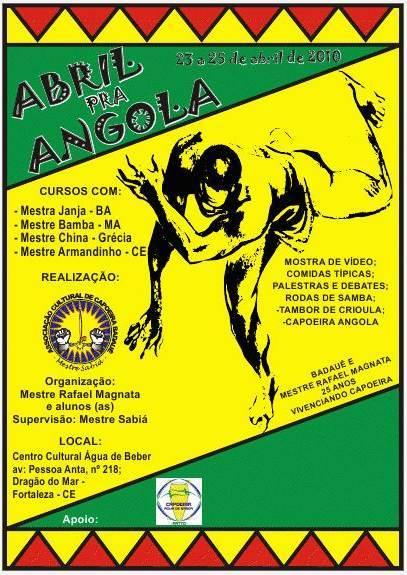 Portal Capoeira Abril pra Angola Eventos - Agenda
