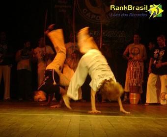 RankBrasil: Capoerista mais idosa em atividade