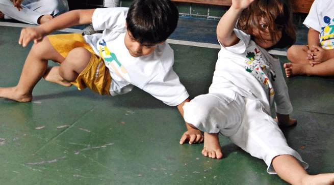 Proposta de Planejamento Anual das Aulas de Capoeira Mirim