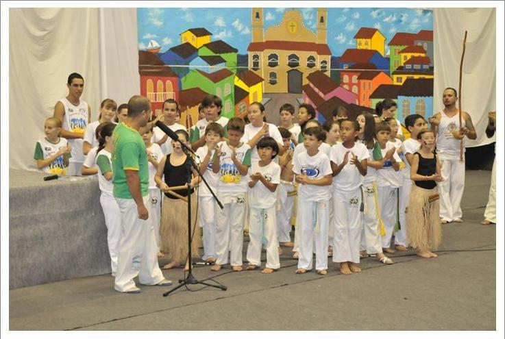 Portal Capoeira Brincando com a Arte do Movimento Cidadania