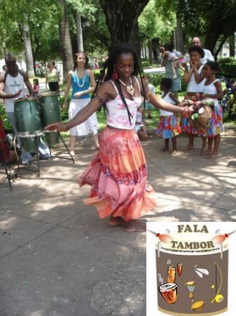 Portal Capoeira Fala Tambor: Genuíno Samba de Roda em BH Cultura e Cidadania