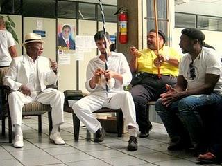 Portal Capoeira Câmara de Ribeirão recebe Mestres de Capoeira Eventos - Agenda