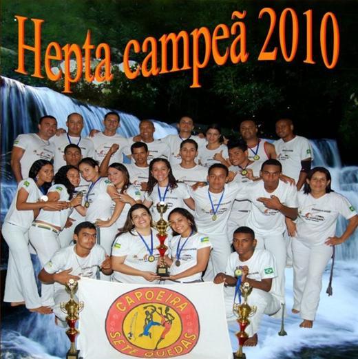 Portal Capoeira Associação de Capoeira de Socorro é Hepta Campeão Sergipano Notícias - Atualidades