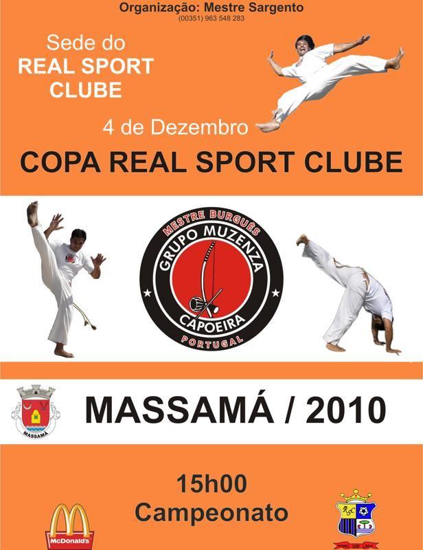 Portal Capoeira Copa Real Sport Clube – Massamá / 2010 Eventos - Agenda