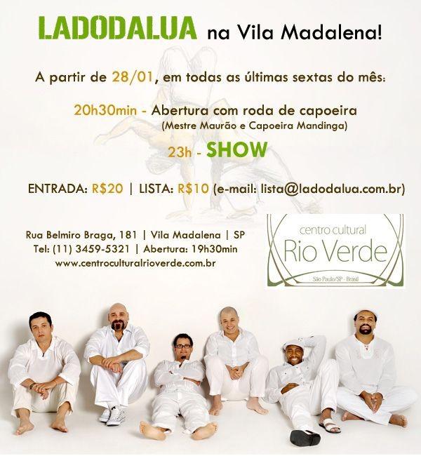 Portal Capoeira LADODALUA, no Centro Cultural Rio Verde Cultura e Cidadania