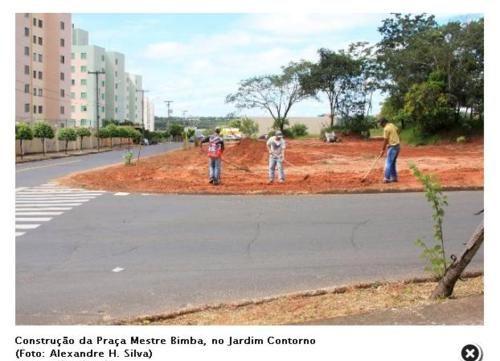 Portal Capoeira Bauru: Início da Construção da Praça Mestre Bimba Notícias - Atualidades